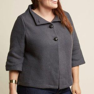 Modcloth Grey Sweater